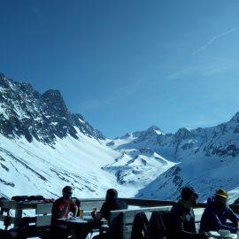 Gemeinschaftsbergfahrt Ski 2017