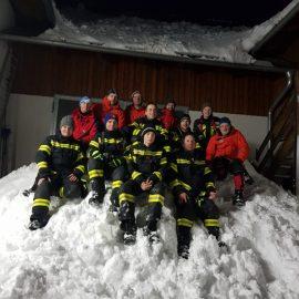 Katastrophenschutz Schneedruck